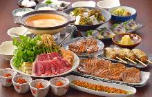 5,400日元套餐 (13道菜)