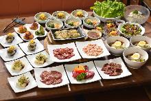 3,850日元套餐 (14道菜)