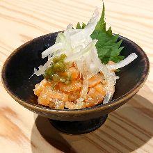 盐曲烤鲑鱼