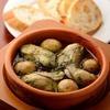 牡蛎蒜蓉橄榄油泡