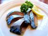 金华鲭鱼的生火腿