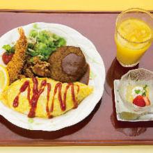 1,045日元组合餐 (3道菜)