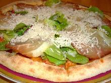 生火腿披萨