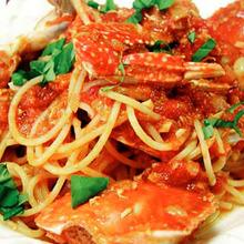 蟹肉義大利麵