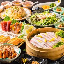 3,580日圓套餐 (10道菜)