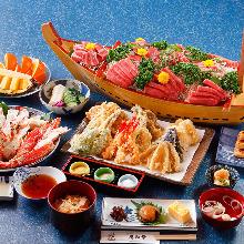 10,800日圓套餐 (10道菜)