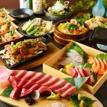 4,000日圓套餐 (8道菜)