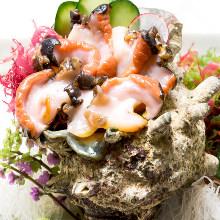 角蠑螺(生魚片)