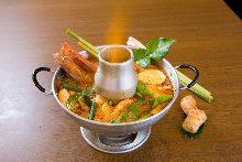 蛋蓉咖喱蟹塊