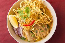椰香黃金雞蛋麺