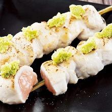 雞胸肉芥末串