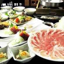 4,600日圓套餐 (8道菜)
