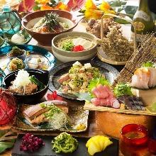 6,000日圓套餐 (13道菜)