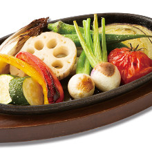 烤蔬菜拼盤