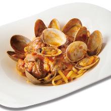 海鮮扁平義大利麵