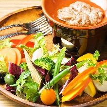 義大利熱沾醬沙拉
