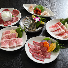 4,500日圓套餐 (8道菜)
