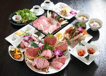 18,000日圓套餐 (9道菜)