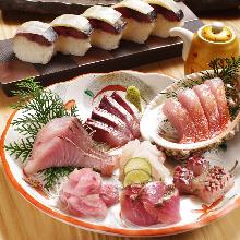 6,000日圓套餐 (7道菜)