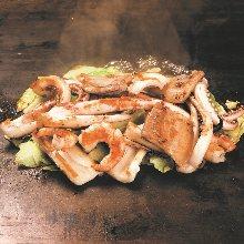 3種鹽味烤肉拼盤