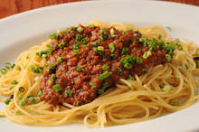 肉醬義大利麵