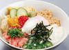 黏稠稠的五色蓋飯 搭配溫泉蛋