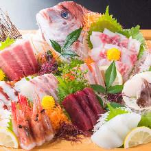 10種生魚片拼盤