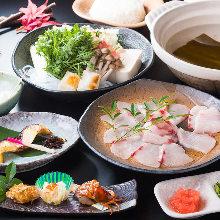 5,000日圓套餐 (6道菜)