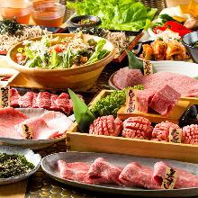 9,000日圓套餐 (18道菜)