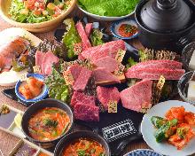7,100日圓套餐 (18道菜)
