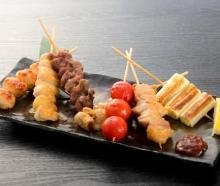 7種串燒拼盤