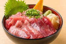 4種鮪魚蓋飯