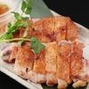 烤一塊雞腿肉  搭配日本柚子胡椒