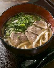 鴨肉籠屜烏龍麺