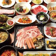 3,434日圓套餐 (54道菜)