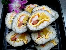 韓式一口壽司捲