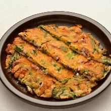 香蔥煎海鮮餅