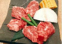 和牛橫隔膜(中心部位附近的肉)
