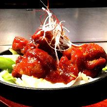 韓式醬料雞肉