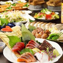 6,480日圓套餐 (10道菜)