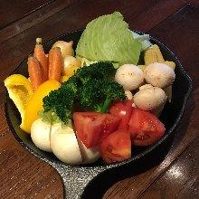 時令蔬菜拼盤