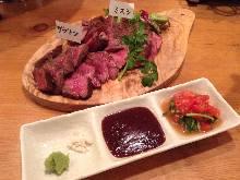 2種肉排拼盤