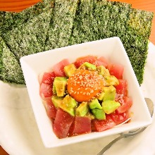 生拌酪梨鮪魚