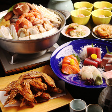 4,320日圓套餐 (6道菜)