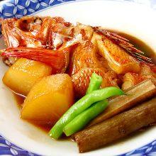 吉次魚(鹽烤或者燉煮)