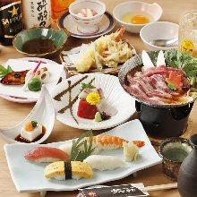 7,560日圓套餐 (9道菜)