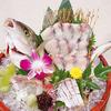 條紋竹莢魚生魚片