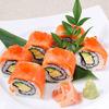 鮭魚與鮭魚蛋的創意壽司捲