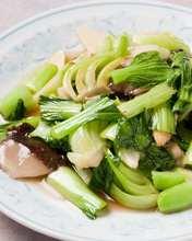 大蒜炒青菜