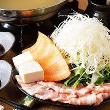 香蔥豬肉涮涮鍋